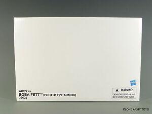 STAR WARS BOBA FETT VINTAGE COLLECTION PROTOTYPE EXCLUSIVE VC61 TVC Mandalorian