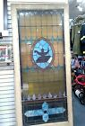 Antique Stained Glass Side Light Wall Window Panel   93 1 2X41 3 4X1 7 8 Inches