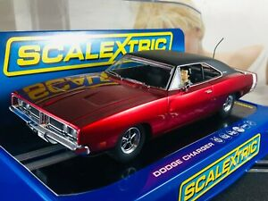 1/32 Auction 29 of 29 NOS SCALEXTRIC 🇺🇸  Dodge Charger R/T Ref C3652T Slot Car
