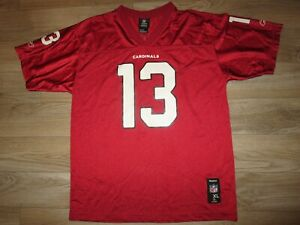 Kurt Warner #13 Arizona Cardinals Reebok NFL Jersey Youth XL 18-20 children