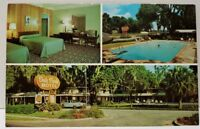 Brunswick Georgia OAK PARK QUALITY COURT MOTEL Vintage Postcard D15