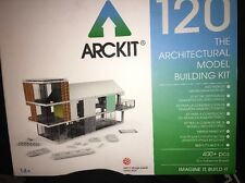 "ARCKIT 120 THE ARCHITECTURAL MODEL BUILDING DESIGN TOOL LEGO""NIB"" 400 PIECES +"