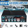 800W bluetooth Stereo Audio Power Amplifier Home Car HiFi Music Karaoke