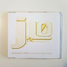JENNIFER LOPEZ - PROMO SINGLE *RADIO STAMP - LOVE DON'T COST A THING ♦ CD MAXI ♦