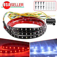 "Flexible 60"" 5-Function LED Strip Tailgate Bar Truck Brake Reverse Signal Light"