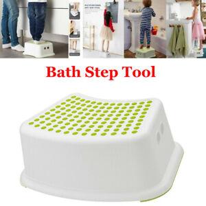 Child Bath Step Stool Potty Training Baby Bathroom  Anti Slip UK