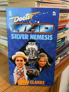 doctor who target book -  SILVER NEMESIS - 1st edition