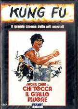 CHI TOCCA IL GIALLO MUORE Jackie Chan DVD NUOVO SIGILLATO Edi.