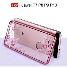Diferente Fundas y carcasas Para Huawei P7 P8 P9 P10 Plus Lite Nova Mate 9 Pro