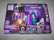 RARE Original 2012 High School MONSTER HIGH School Set NEW Foldable Doll House