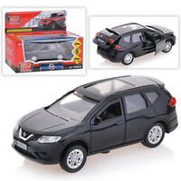 Diecast Metal Model Car Nissan X-Trail Black Toy Die-cast Cars