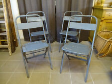 U2918 Biergartenklappstuhl Metal ~4 Stühle~ Beer Garden Chair~Folding Chair