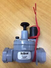 Qty 2: 25mm Irritrol Richdel 205mt Irrigation Solenoid Valve with Flow Control