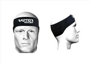 Raptor Rugby Neoprene Headband/Ear Protector/Headguard/Scrum Cap. Junior/Senior