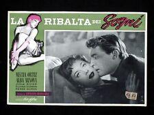 LA RIBALTA DEI SOGNI fotobusta poster Mecha Ortiz Arnova Pájards de cristal U60