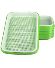 More details for x3 microgreens grow tray, seed sprouter, hydroponics, seedling germination