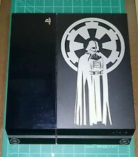 Starwars Darth Vader PS4 console Decal set (Silver Metallic)