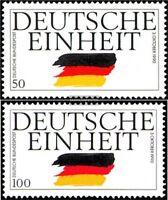 BRD (BR.Deutschland) 1477-1478 (kompl.Ausgabe) gestempelt 1990 Deutsche Einheit