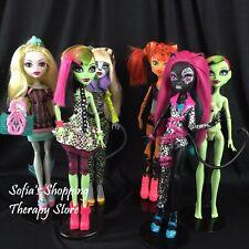 Monster High Catty Meowlody Lagoona Venus Toralei Fierce Rockers I Heart Fashion