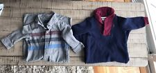 Lot Long Sleeves Baby Boys Dressy 6-12 M Gap Ralph Lauren Grey Coverall Pants