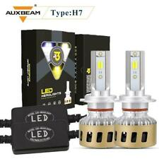 AUXBEAM H7 LED Headlight Bulbs High/Low Beam Lamp 6000K 3000K 4300K Super Bright