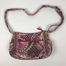 VERA BRADLEY Women's Purse Very Berry Paisley Cross Body Bag Beautiful Colors