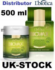 L'biotica Biovax in bambù e Olio di Avocado Maschera per capelli 500 ml Limited Edition