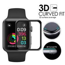 Film Vitre Verre Trempé de Protection d'écran 3D Courbé Apple Watch 4 3 2 1