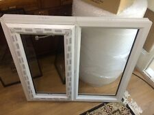 WINDOW UPVC Double Glazed WHITE Frame+Glass /& Handle 720mmX350mm-Made To Measure