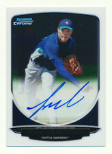 2013 BOWMAN CHROME TAIJUAN WALKER RC AUTO ROOKIE AUTOGRAPH MARINERS QTY