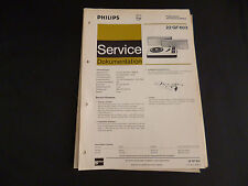 Original Service Manual Philips 22 GF 603