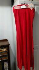 New LuLaRoe Ladies size L Orange YOGA style waist-flared Skirt,