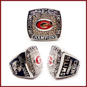 2002 Georgia Bulldog #SMITH Football National Championship Ring - SEC Champions