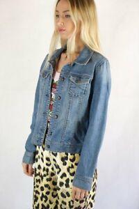 Old Navy Ladies Classic Denim Jean Jacket - Size S