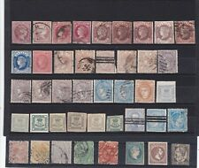 Spain, collection of old stamps, see scans.