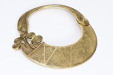 La Tribu Rigaux Gold Tone Tribal Necklace