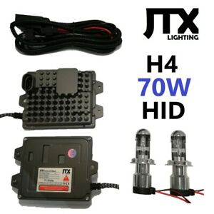 H4 9003 JTX HID Kit 70W 12V 24V XENON Hi/Lo suits AUDI CHRYSLER CITROEN DAEWOO