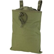 NEW CONDOR OD GREEN MOLLE Tactical Roll Up Magazine Drop Dump Pouch Holster MA22