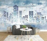 3D City Building N2757 Wallpaper Wall Mural Removable Self-adhesive Sticker Amy