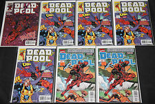 Marvel DEADPOOL TITLES 247pc Mid-High Grade Comic Lot VF-NM Duplication Cable