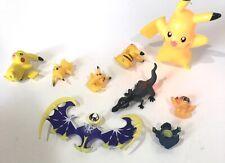 Pokemon Figures Mixed Lot Of 9 Pikachu Toys