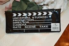 Universal Studios Orlando Vintage Zip Up Black Pencil Pen Pouch Holder Case