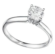 Certified SOLID 14K 1.36 Ct Moissanite Diamond Wedding,Engagement,Solitaire Ring
