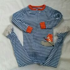 Carter's one-piece footed cotton pajamas size 24m