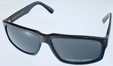 Porsche Design Sonnenbrille Carbon look P8547-D-6114-135-V718-E88 grey NEU