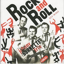 ROCKABILLY REPRO EP: JOHNNY BURNETTE - Midnight Train/Tear It Up/Oh Baby Babe +1