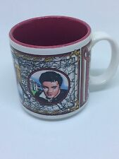 Vintage ELVIS Presley Graceland Coffee Cup Mug Collectible Souvenir