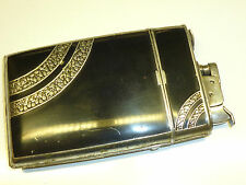 EVANS TRIG-A-LITE LIGHTER / CIGARETTE CASE COMBINATION - 1939 - U.S.A. - RARE