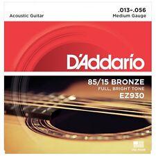 D 'Addario EZ930 cuerdas para guitarra acústica de bronce americano-medio - 13-56