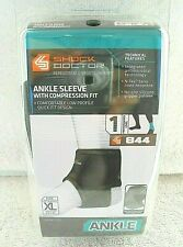 New Shock Doctor Sz. XL Performance Ankle Sleeve Support Compression Brace (844)